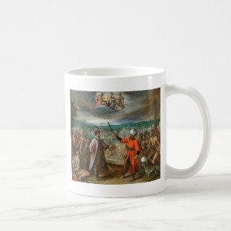 Allegori på förklaringen av krig Constantinople Kaffemugg