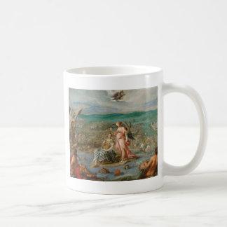 Allegori på striden av Sisak av Hans von Aachen Kaffemugg