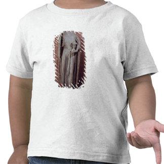 Allegorical figur av det kyrkliga innehav en bägar tröja