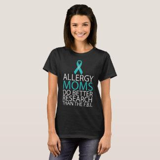 Allergimammor förbättrar forskningT-tröja (mörk) Tröjor