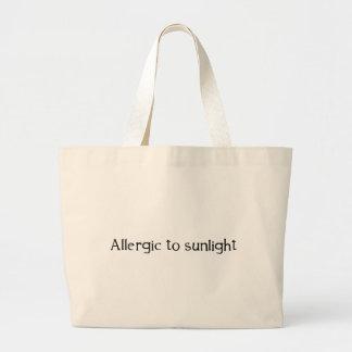 Allergiskt till solljus kassar