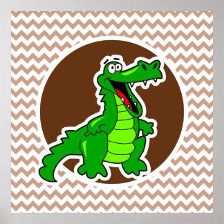 Alligator Brun sparre
