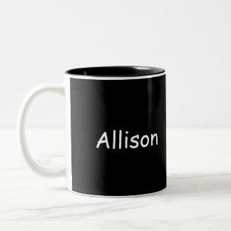 Allisons Sts Patrick dag Två-Tonad Mugg