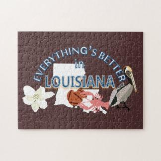 Allt är bättre i det Louisiana pussel