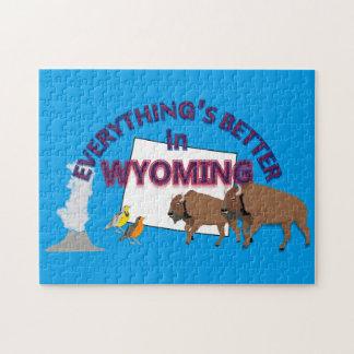 Allt är bättre i det Wyoming pussel