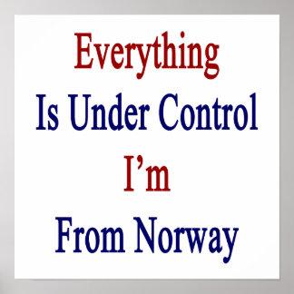 Allt är kontrollerar Under I-förmiddag från norge Poster