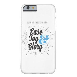 Allt liv kommer till mig lätt glädje- & barely there iPhone 6 fodral