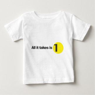 Allt som det tar, är 1 - spädbarn tröja