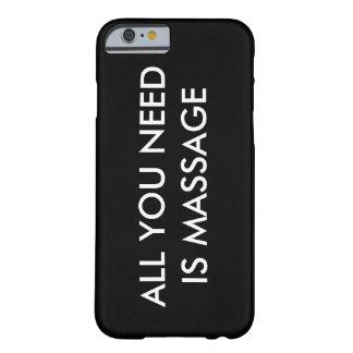 ALLT som DU BEHÖVER, ÄR det mobila fodral för Barely There iPhone 6 Fodral