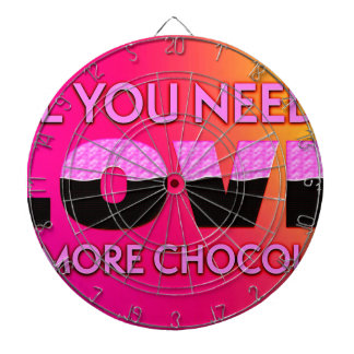 Allt som du behöver, är kärlek eller mer choklad piltavla