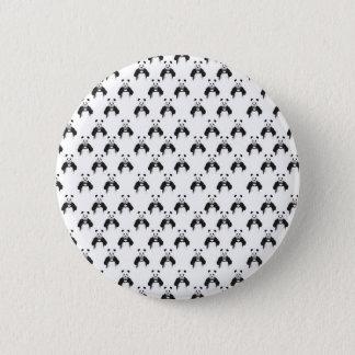 Allt som du behöver, är kärlek (mönster) standard knapp rund 5.7 cm