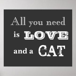Allt som du behöver, är kärlek… och en affisch för
