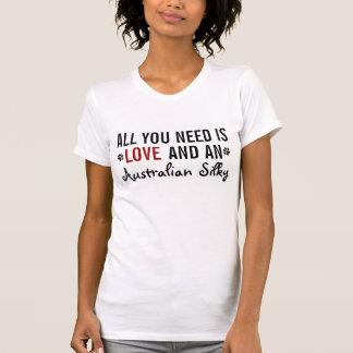 Allt som du behöver, är kärlek och en silkeslen tee shirts