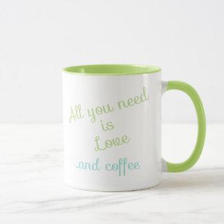 Allt som du behöver, är kärlek… och kaffe mugg