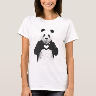 Allt som du behöver, är kärlek t-shirt