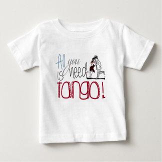 Allt som du behöver, är Tangocitationstecknet Tee Shirt