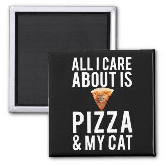 Allt som jag att bry sig, är omkring pizza & min magnet