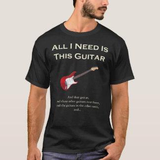 Allt som jag behöver, är denna gitarr som är tröjor