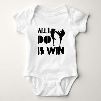 Allt som jag gör, är segern på Kickboxing Tee Shirt