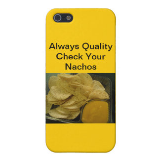 Alltid kvalitets- kontroll dina Nachos iPhone 5 Fodral