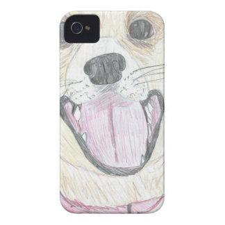 Alltid lyckliga Labrador iPhone 4 Fodraler