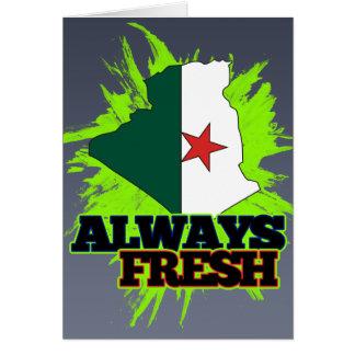 Alltid nya Algeriet Hälsningskort