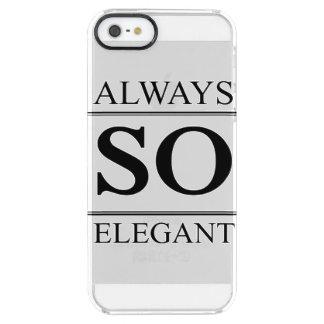 Alltid så elegantt clear iPhone SE/5/5s skal