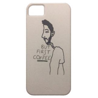 Alltid tänkande om kaffe iPhone 5 Case-Mate skal