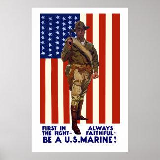 Alltid troget -- Var en U.S.-flotta Poster