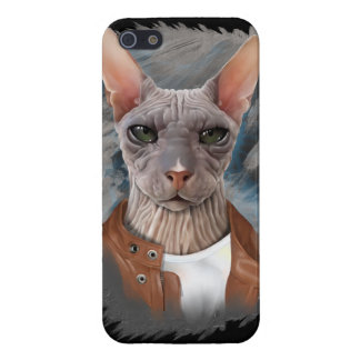 Allvarlig sphinx iPhone 5 cover