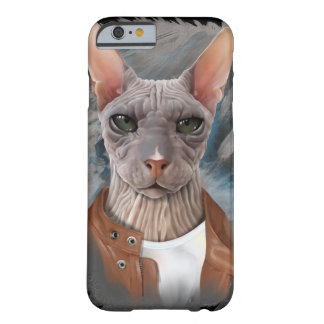 Allvarlig sphynxkatt barely there iPhone 6 fodral