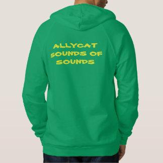 AllyCat S.O.S. Riddim Rota radiosände manar Hoodie