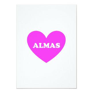 Almas 12,7 X 17,8 Cm Inbjudningskort