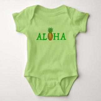 ALOHA ananas för Hawaii tropisk öhawaiibo Tee