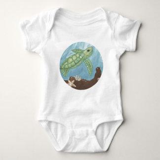 Aloha babyhavssköldpadda t-shirt