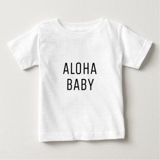 Aloha babytextdesign t shirts