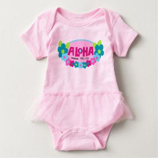 Aloha blommigt för elakhejhawaiibo t shirt