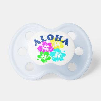 Aloha blommor för hawaiibo för vintagenappar napp