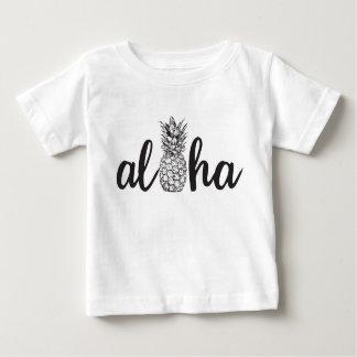 aloha för öunge för ananas tropisk skjorta tee
