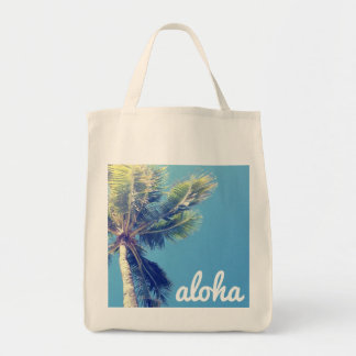 Aloha handflatan mat tygkasse
