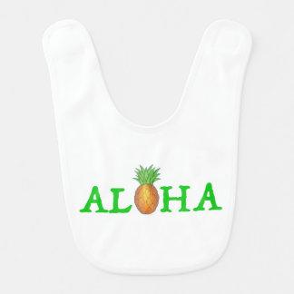 ALOHA hawaiansk ananasgrönt för tropisk ö Hakklapp