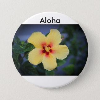 Aloha Mellanstor Knapp Rund 7.6 Cm