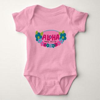 Aloha ranka för elakhejspädbarn t-shirt
