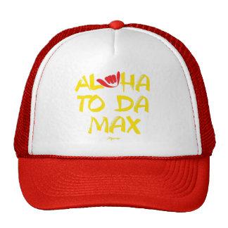 Aloha till max Da (rött) Keps