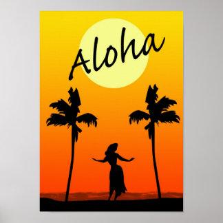 Aloha tryck