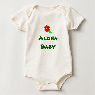 Aloha (unisex-) baby, krypdräkt