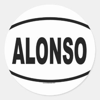 ALONSO RUNT KLISTERMÄRKE