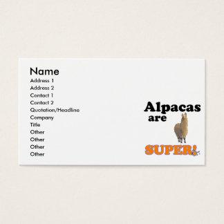 alpacas är toppna visitkort