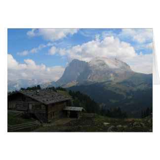 Alpe Di Siusi Italien Hälsningskort