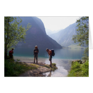 Alperna Hälsningskort